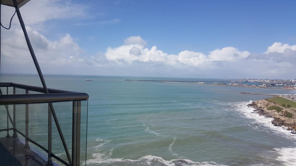 alquiler departamento frente al mar 2 ambientes playa grande
