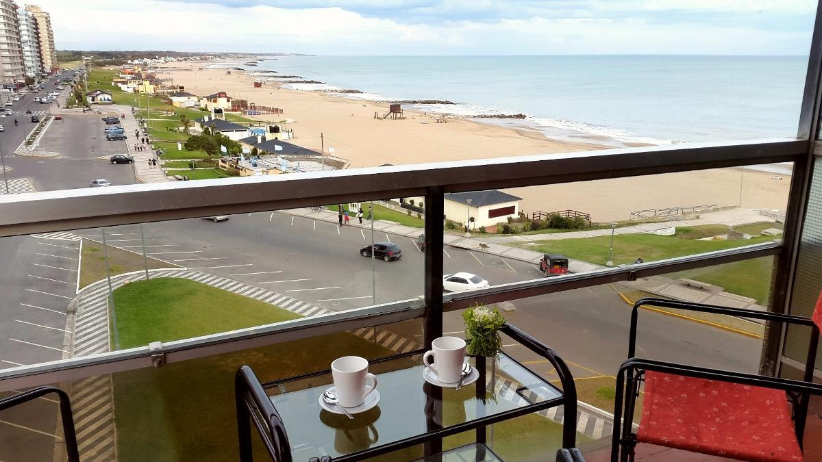 alquiler departamento miramar vista al mar playa club