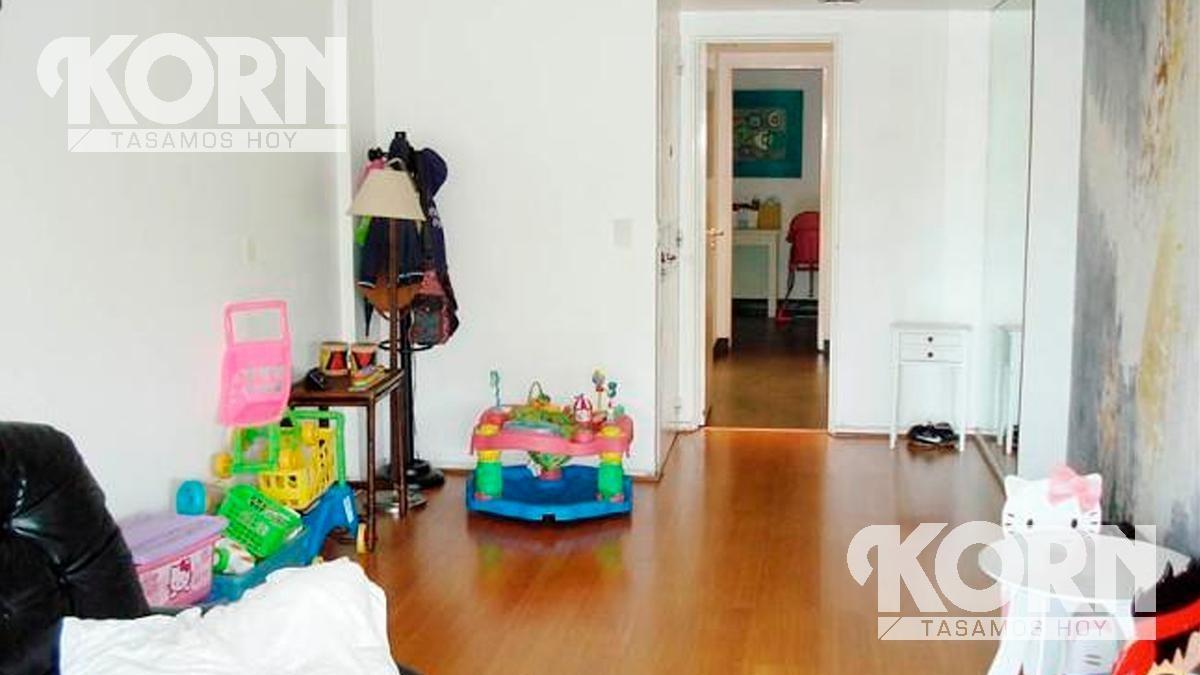 alquiler departamento / piso, muy buena categoria, con dependencia de servicio y cochera en palermo