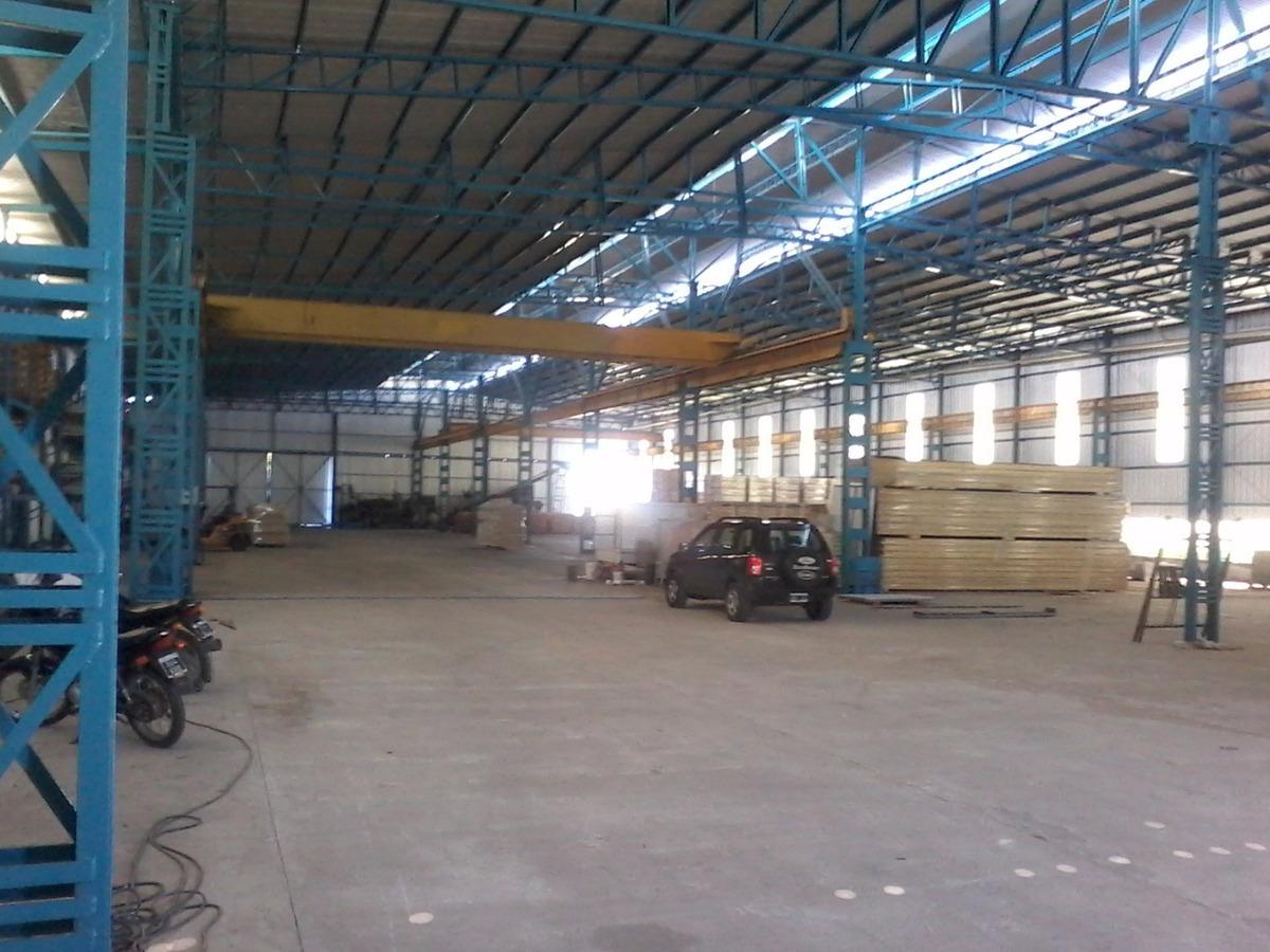 alquiler deposito por m2 en parque industrial alvear
