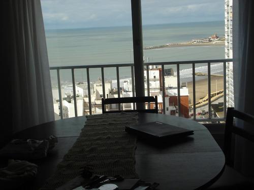 alquiler depto mar del plata centro vista al mar