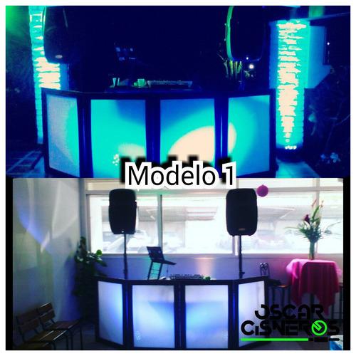 alquiler discplay sonido iluminacion dj luces led fiesta
