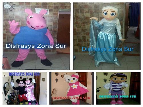 alquiler disfraces de personajes infantiles,