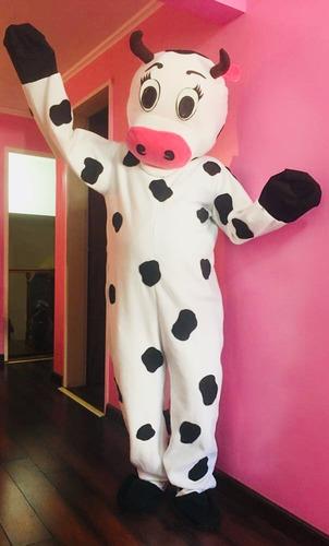 alquiler disfraz cabezòn / vaca lola
