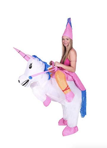 alquiler disfraz inflable adulto t-rex - unicornio- godzilla
