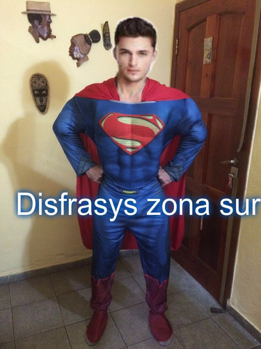 alquiler disfraz super heroes vengadores,hulk,spiderman y +
