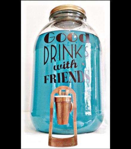 alquiler dispensadores mason jars estacion de bebidas