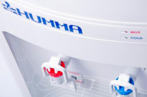 alquiler dispenser agua frío calor con heladera de red humma