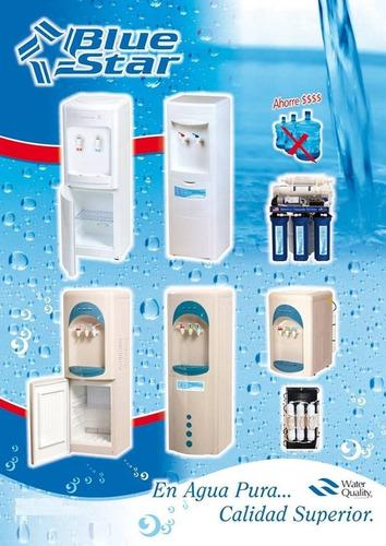 alquiler dispenser de agua frio calor a la red con filtros.