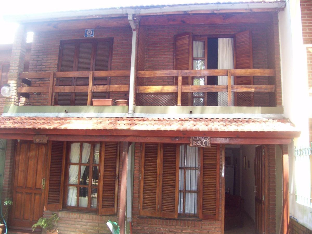 alquiler duplex 6 personas patio parrilla san bernardo a054