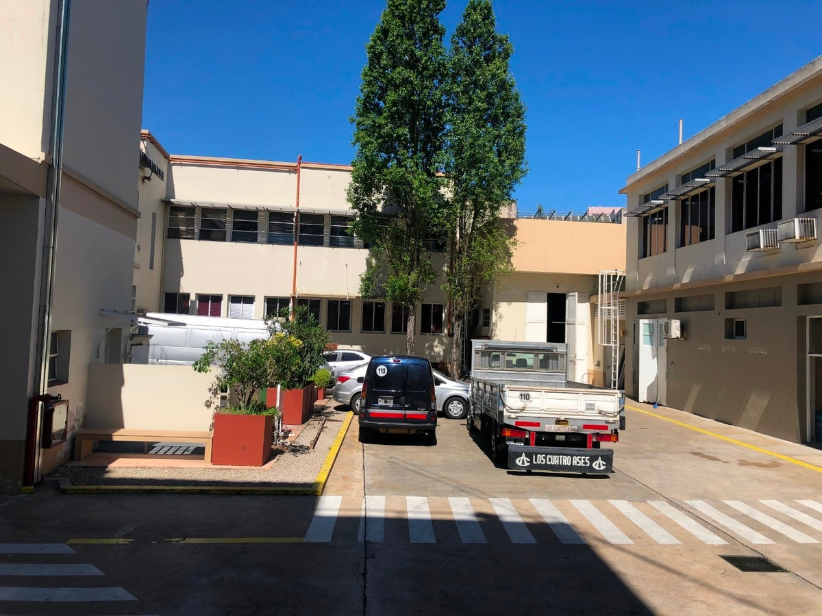 alquiler - edificio en block - distrito audiovisual, caba