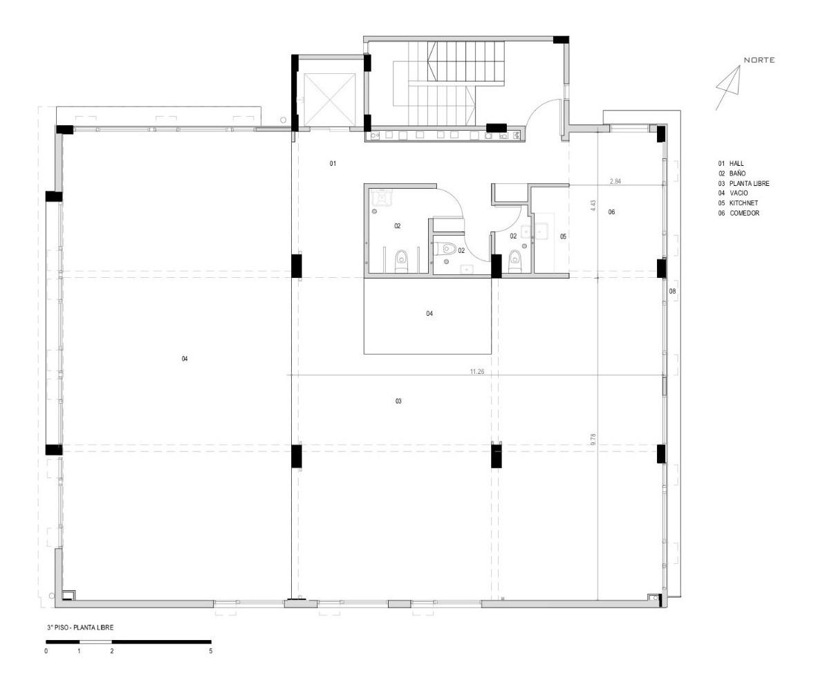 alquiler edificio oficinas + cocheras vicente lopez