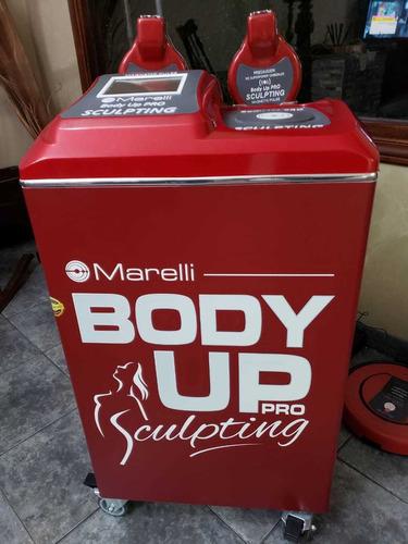 alquiler equipo body up pro sculpting 2 cabezales. estética