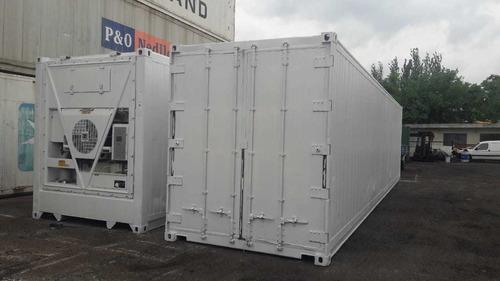 alquiler equipo de frió 12 m. y 6 m. containers refrigerado
