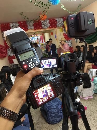alquiler equipo de sonido, dj, luces, fotografía, filmacion