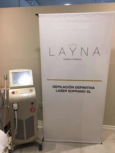 alquiler equipo depilacion definitiva laser soprano ice