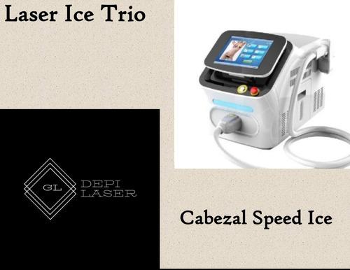 alquiler equipo depilacion definitiva laser trio ice