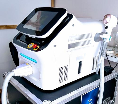 alquiler equipo depilación láser definitiva trío diodo speed