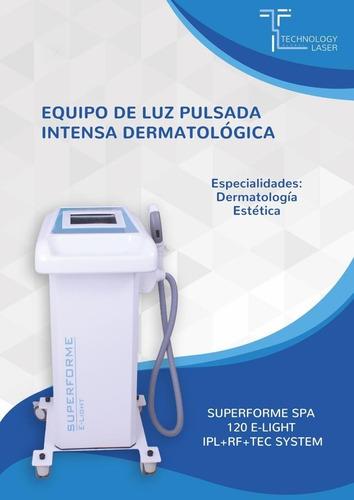 alquiler equipo luz pulsada dermatológica