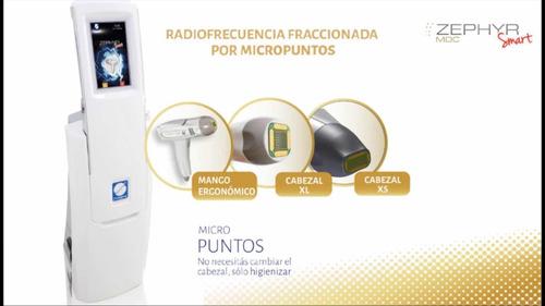alquiler equipo zefhyr radiofrecuencia fraccionada
