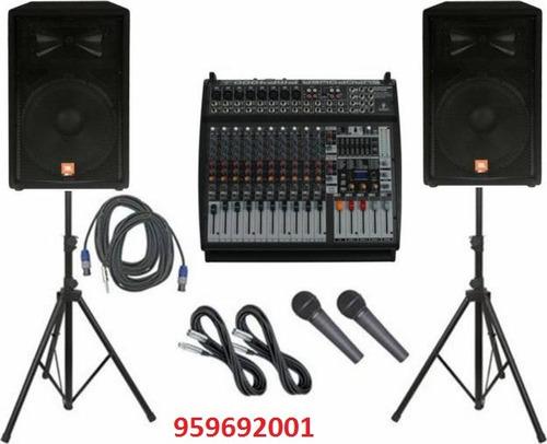 alquiler equipos de sonido - arequipa