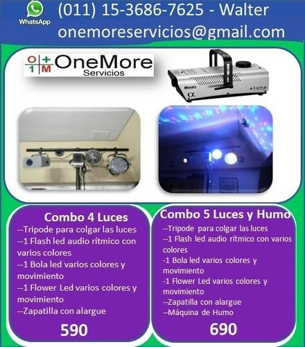 alquiler equipos de sonido karaoke luces dj humo proyector