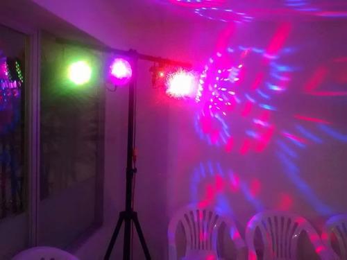 alquiler equipos de sonido, luces led