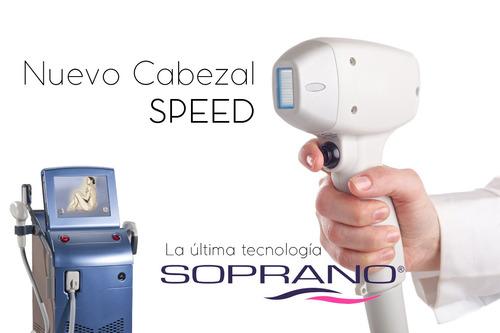 alquiler equipos originales laser soprano cabezal ice