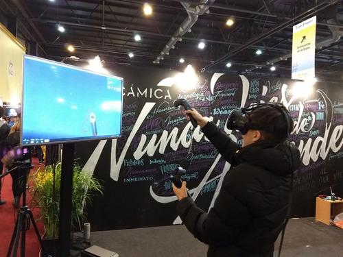alquiler equipos realidad virtual - oculus rift/quest/go/htc