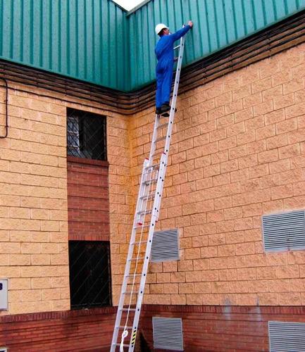 alquiler escalera extensible por 48 hs - entrega bonificada!