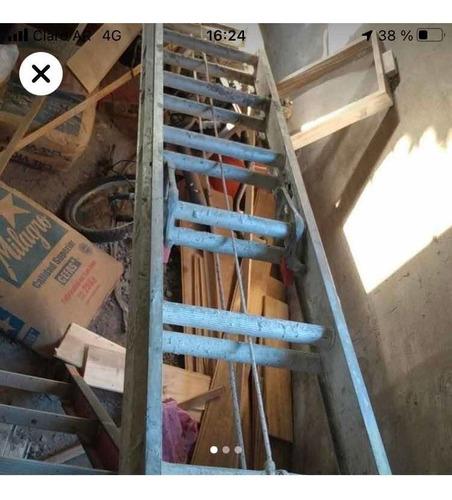 alquiler escaleras extensibles - trompos hormig. - andamios