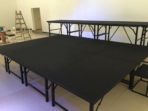 alquiler escenario modular en tarimas eventos shows!