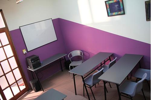 alquiler espacios aula sala cursos talleres eventos - centro