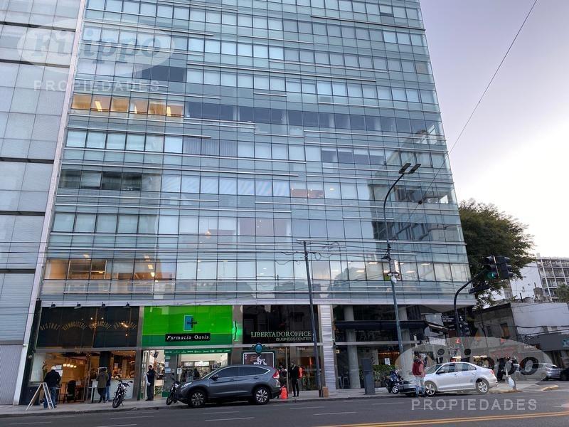 alquiler: espectacular oficina 190m2 · av. libertador y juramento ·  2 cocheras