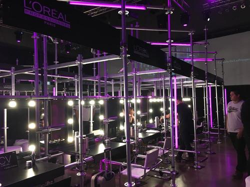 alquiler espejo camarin maquillaje - backstage showroom