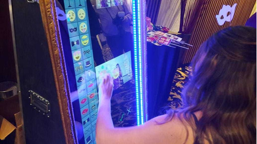 alquiler espejo mágico fotocabina todo para eventos fotos