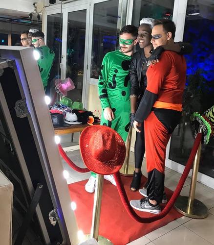 alquiler espejo mágico fotocabinas photobooth fiestas party!