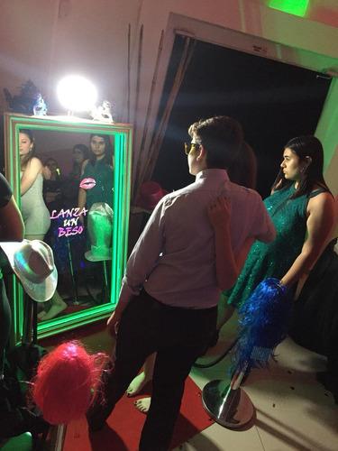 alquiler espejo mágico #selfieprint