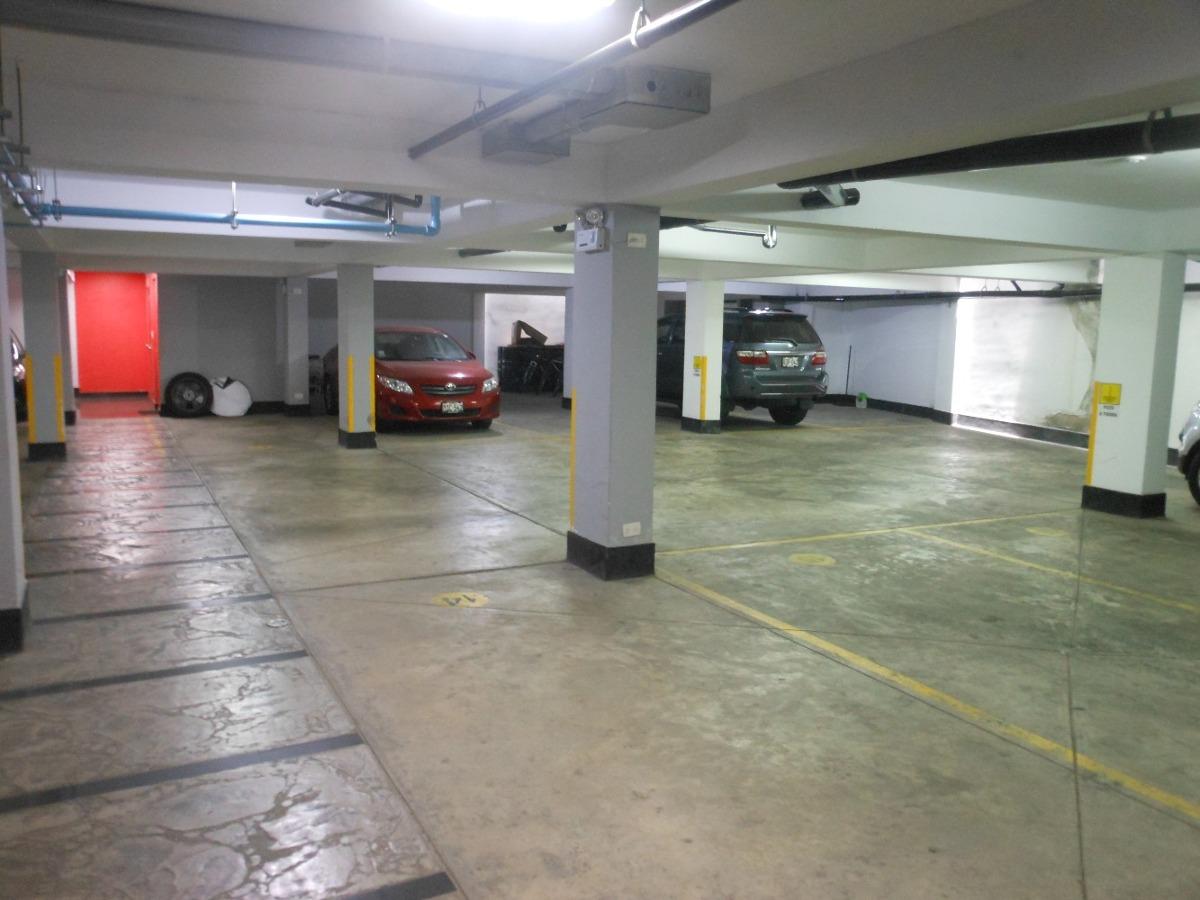 alquiler estacionamiento, garaje, cochera en san borja