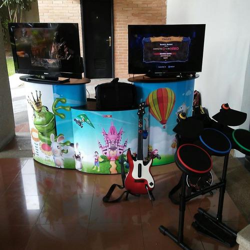 alquiler estaciones de videojuegos: fornite, fifa , etc.