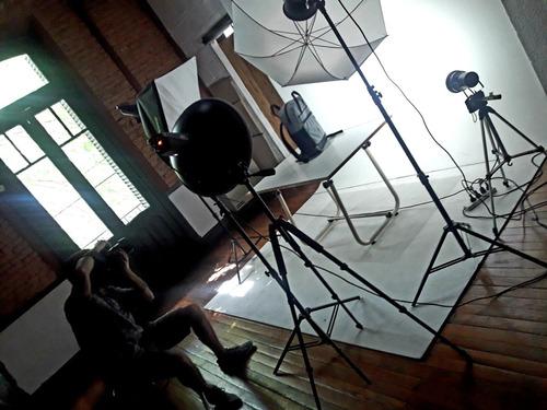 alquiler estudio fotográfico por hora promo 30% off