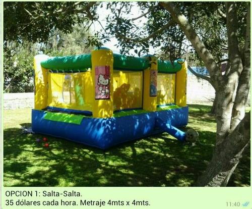 alquiler evento fiesta