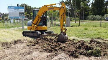 alquiler excavadora  de orugas de 5tn a 22 tn argecam