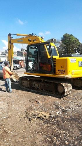 alquiler excavadoras