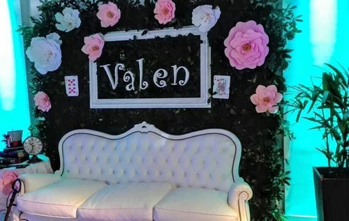 alquiler fondo pared verde candy jardin vertical artificial