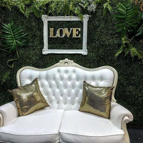 alquiler fondo pared verde candy jardin vertical artificial