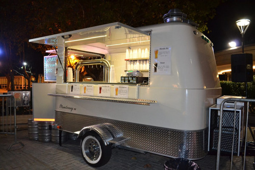alquiler food truck de cerveza tirada, solo con personal