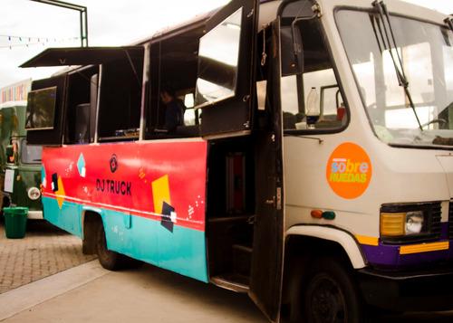 alquiler food truck gastronomico y/o dj truck para tu evento