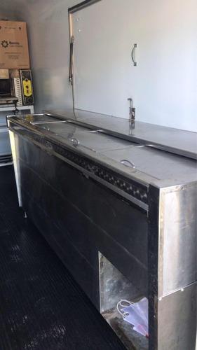 alquiler food truck trailer