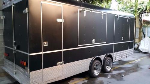 alquiler food truck trailer americano eventos publicidad